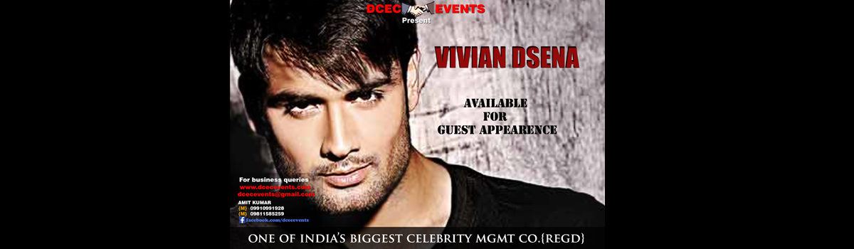 Celebrity VIVIAN DSENA available for guest appearence